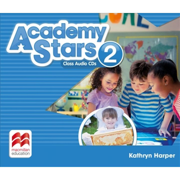 Academy Stars for Ukraine Level 2 Class Audio CDs