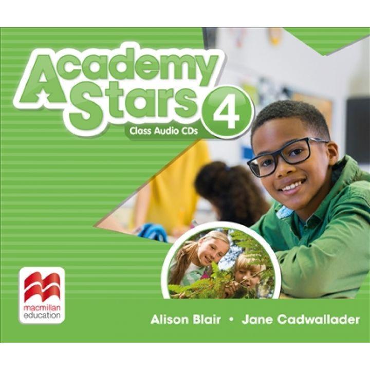 Academy Stars for Ukraine Level 4 Class Audio CDs