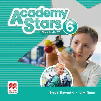 Academy Stars for Ukraine Level 6 Class Audio CDs