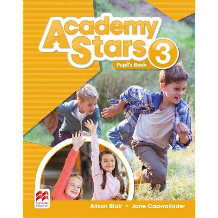 Academy Stars for Ukraine Level 3 Pupil's Pack