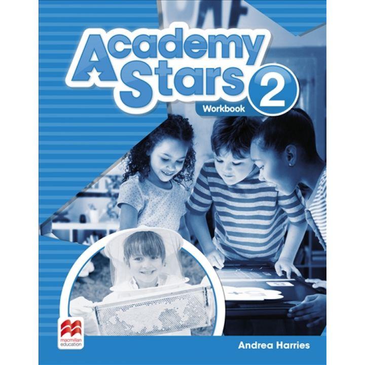 Academy Stars for Ukraine Level 2 Workbook