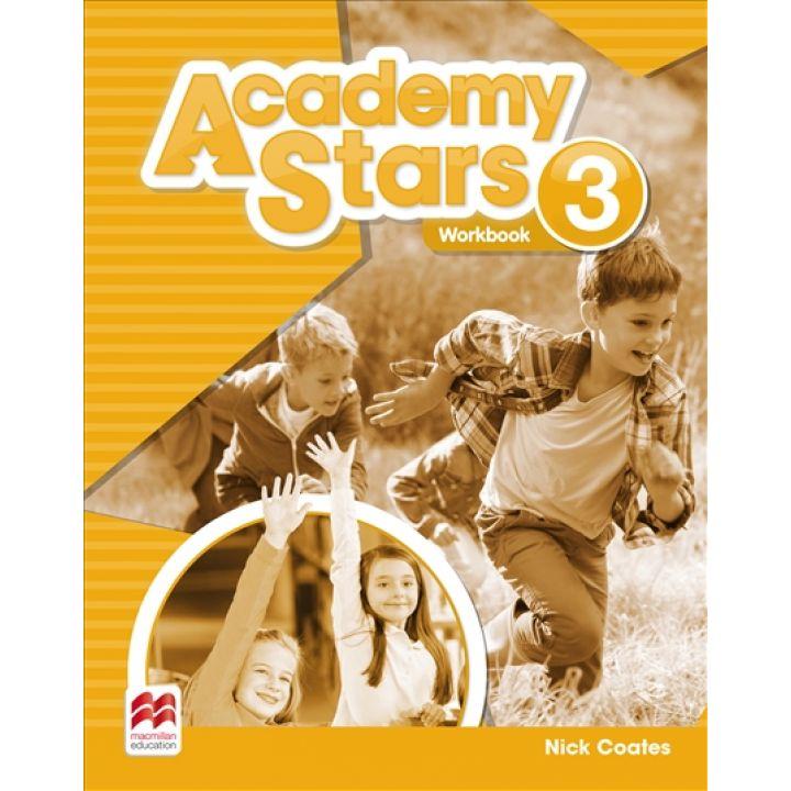 Academy Stars for Ukraine Level 3 Workbook