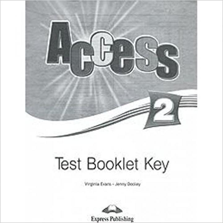 ACCESS 2 TEST BOOKLET KEY