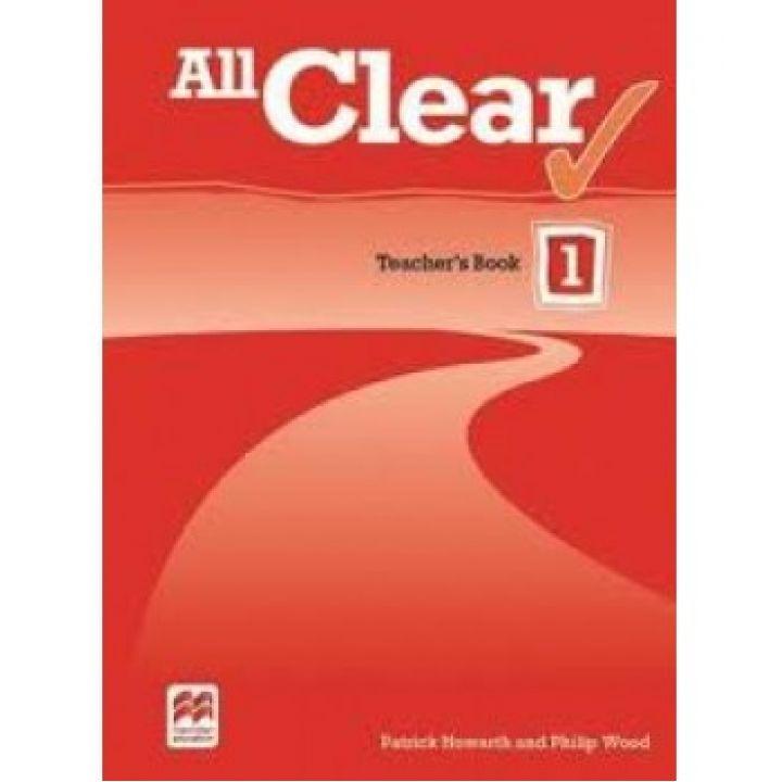 All Clear 1 Teacher's Book