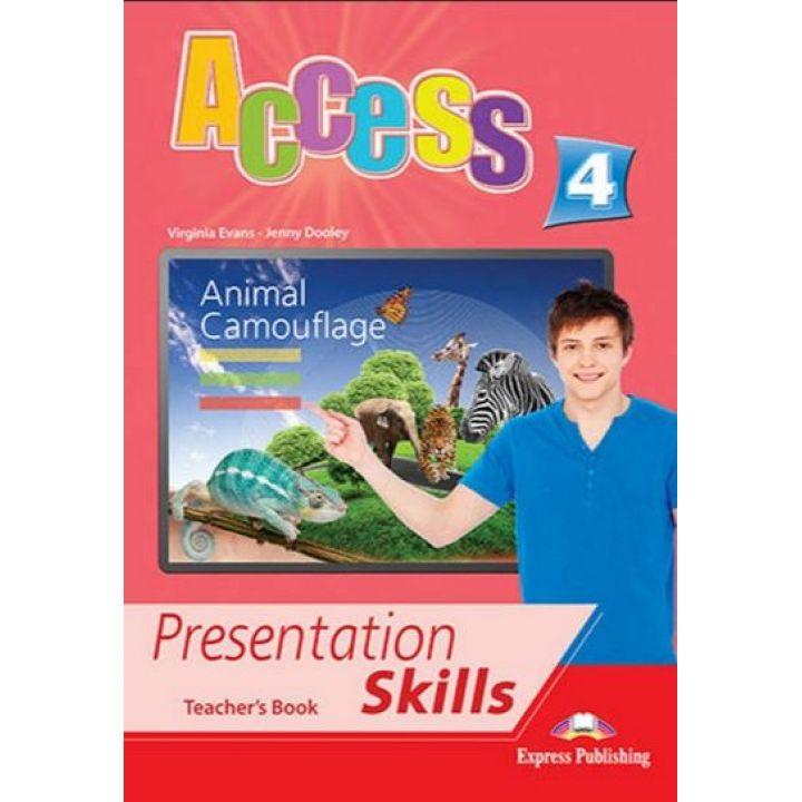 ACCESS 4 PRESENTATION SKILLS TEACHER'S BOOK