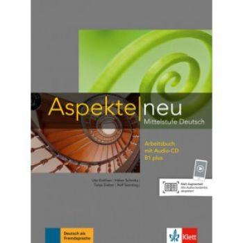 Aspekte 1 Neu B1+ Arbeitsbuch mit Audio-CD