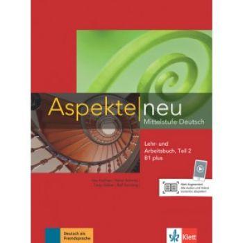 Aspekte 1 Neu B1+, Lehr-und Arbeitsbuch, Teil 2+CD