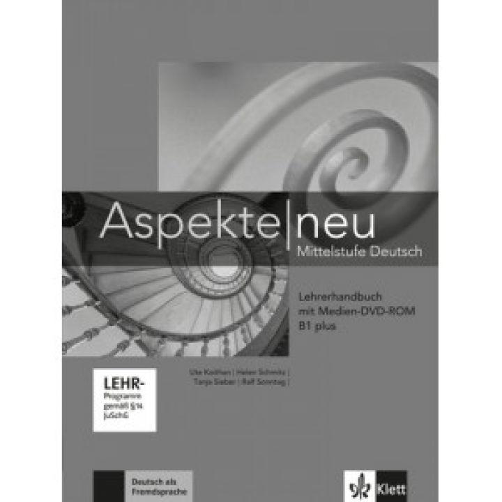 Aspekte 1 Neu B1+ Lehrerhandbuch mit DVD-ROM