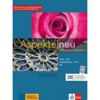 Aspekte 2 Neu B2 Lehr-und Arbeitsbuch, Teil 1+CD