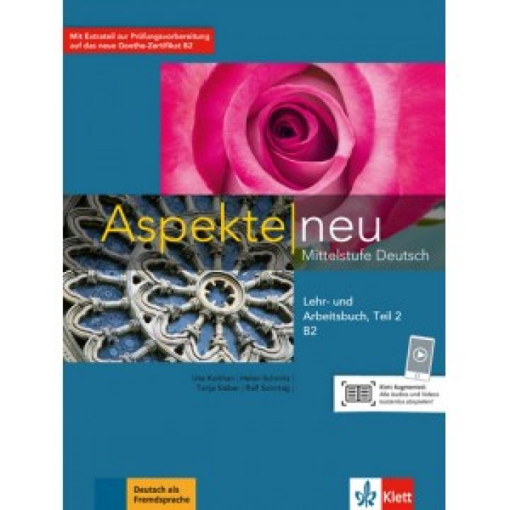 Aspekte 2 Neu B2 Lehr-und Arbeitsbuch, Teil 2+CD
