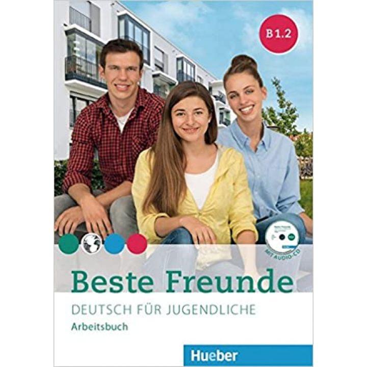 Beste Freunde B1.2 Arbeitsbuch + CD-ROM