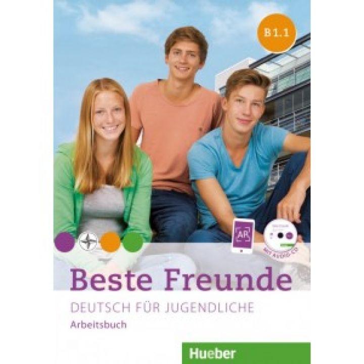 Beste Freunde B1.1 Arbeitsbuch + CD-ROM