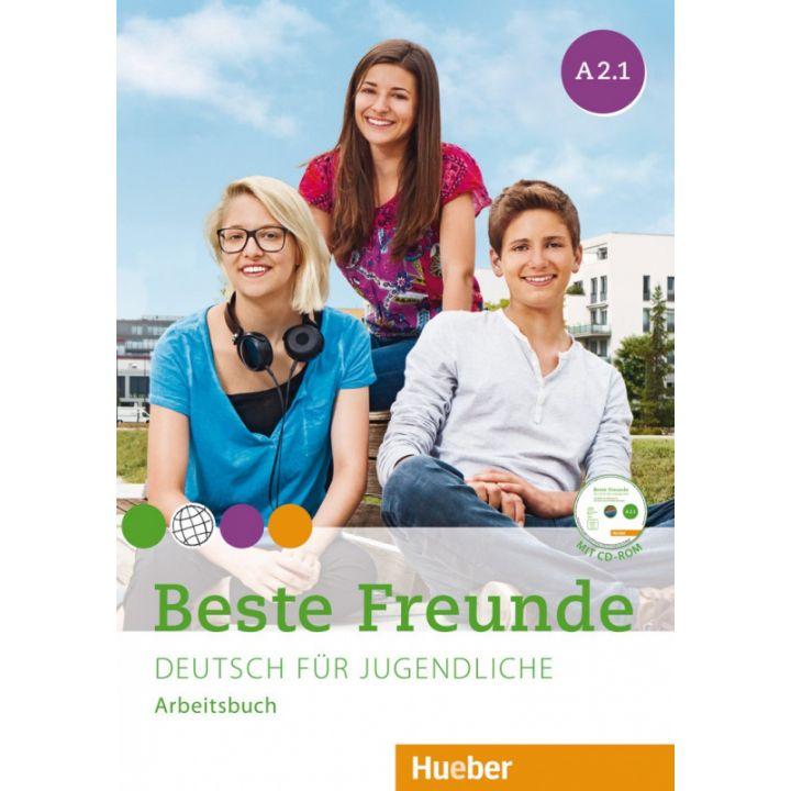 Beste Freunde A2.1 Arbeitsbuch + CD-ROM
