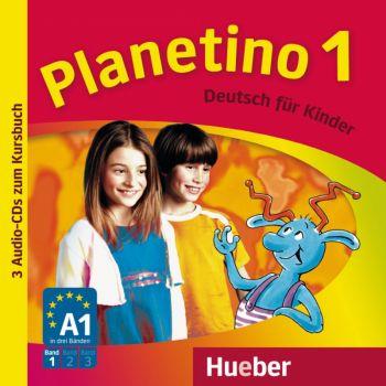 Planetino 1 Audio-CDs zum Kursbuch