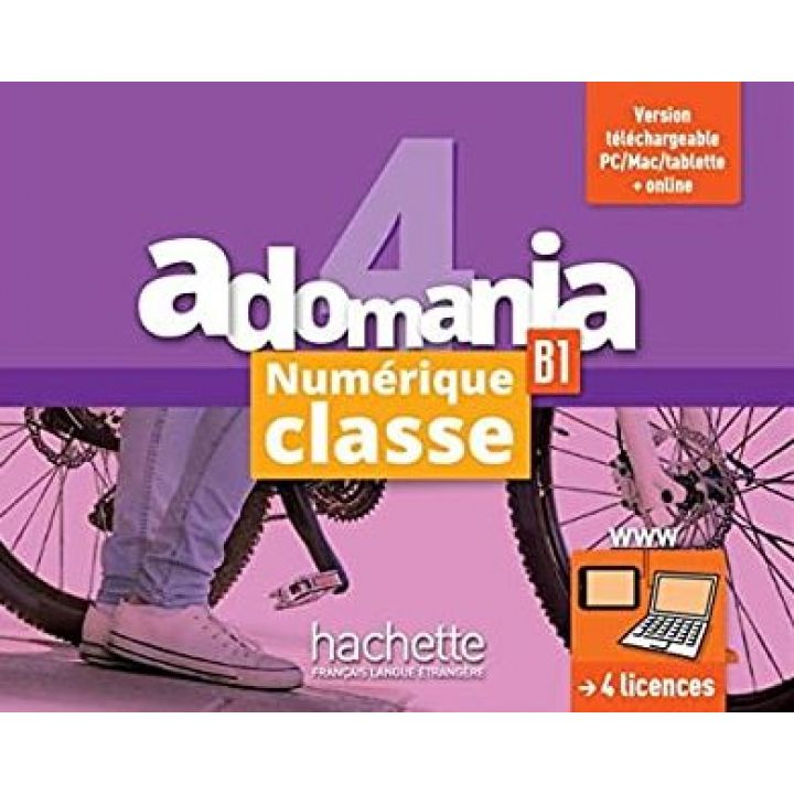 Adomania 4: Manuel numerique classe