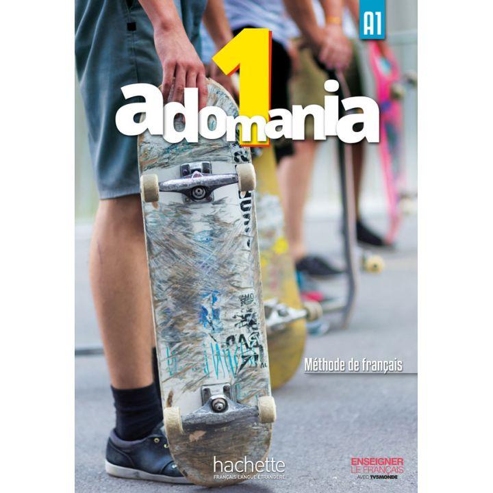 Adomania 1: Livre de l'élève + DVD-ROM