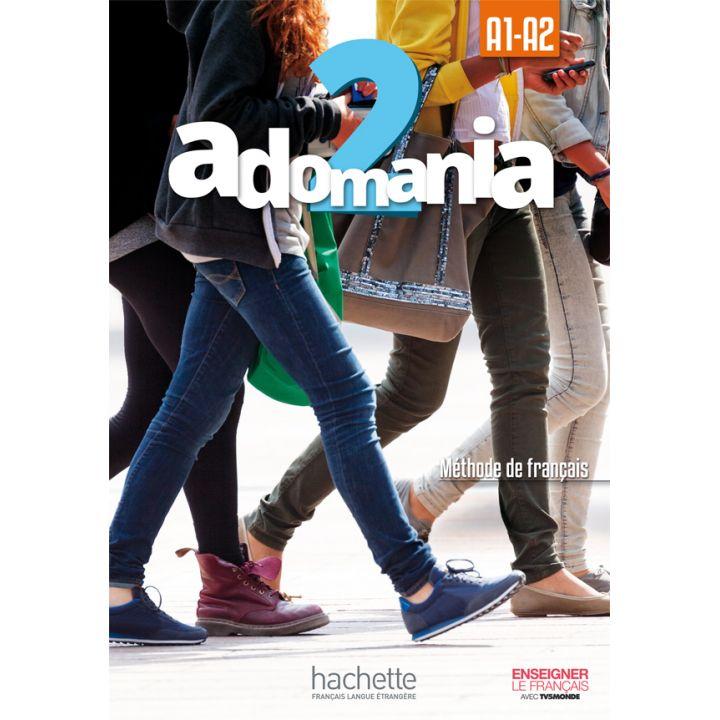 Adomania 2: Livre de l'élève + DVD-ROM