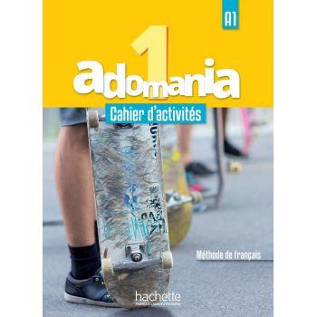 Adomania 1: Cahier d'activités + CD audio + Parcours digital