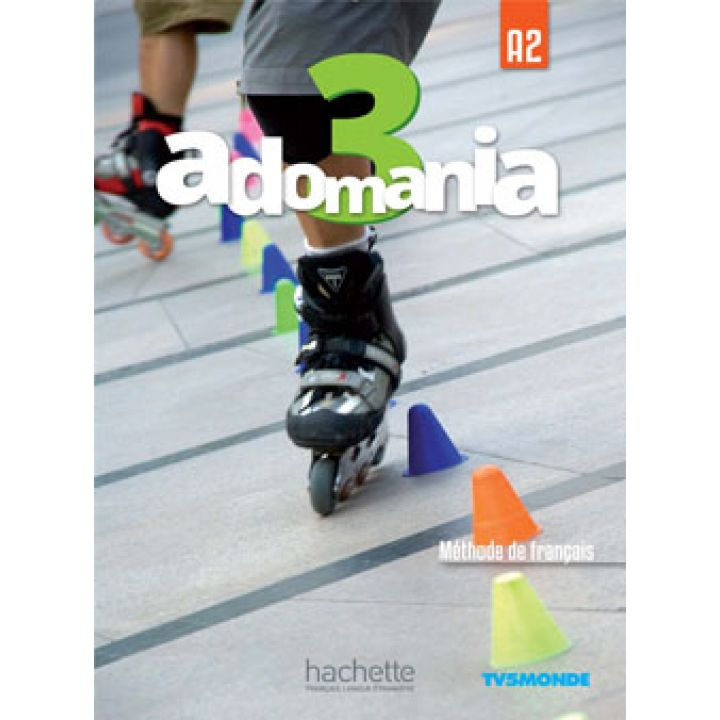 Adomania 3: Livre de l'élève + DVD-ROM