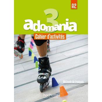 Adomania 3: Cahier d'activités + CD audio + Parcours digital