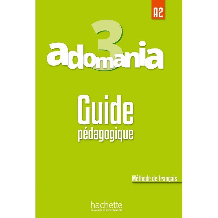 Adomania 3: Guide pédagogique
