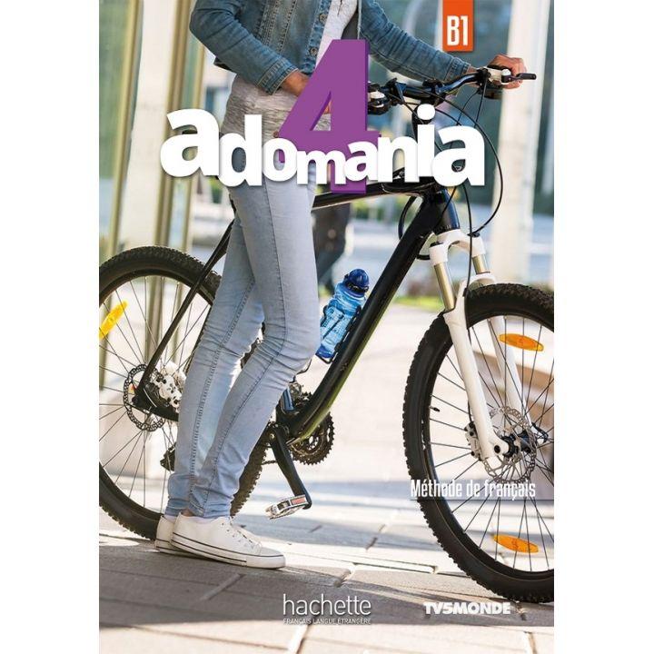 Adomania 4: Livre de l'élève + DVD-ROM