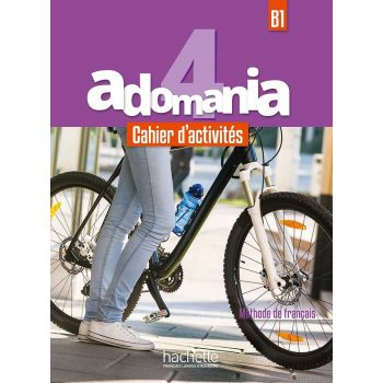 Adomania 4: Cahier d'activités + CD audio + Parcours digital