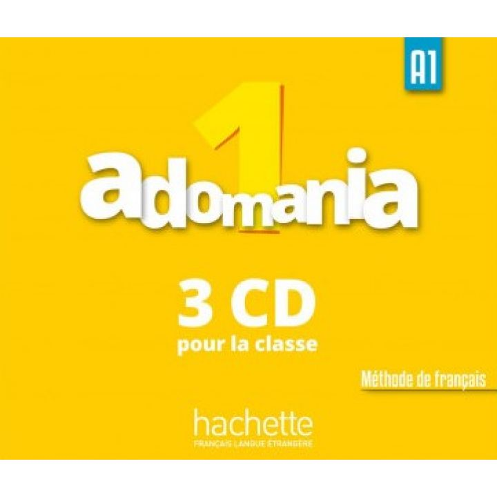 Adomania 1: CD audio classe (x3)