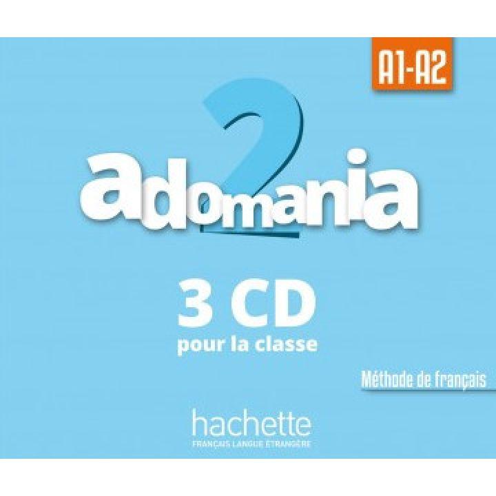 Adomania 2: CD audio classe (x3)