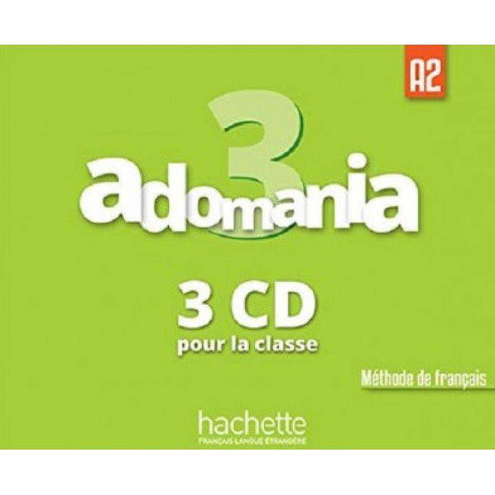 Adomania 3: CD audio classe (x3)