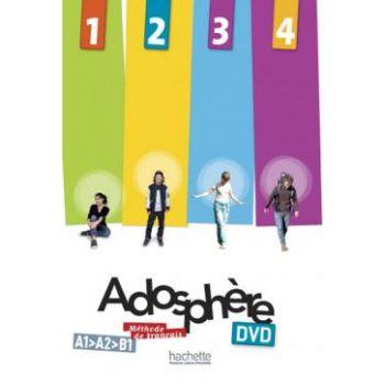 Adosphère 1 - 2 - 3 - 4: DVD PAL