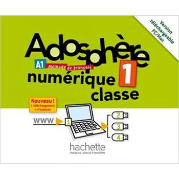 Adosphère 1: Manuel numerique enseignant (carte)