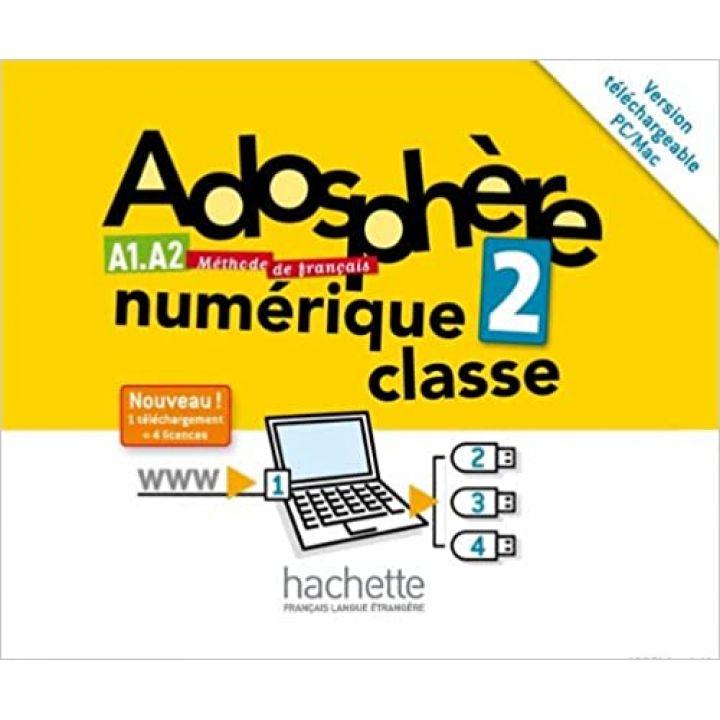 Adosphère 2: Manuel numerique enseignant (carte)