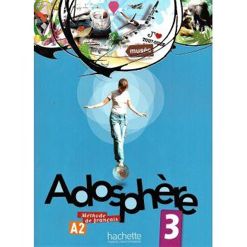 Adosphère 3: Livre de l'élève + CD audio