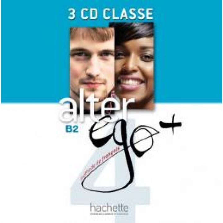 Alter Ego + 4: CD audio classe (x4)