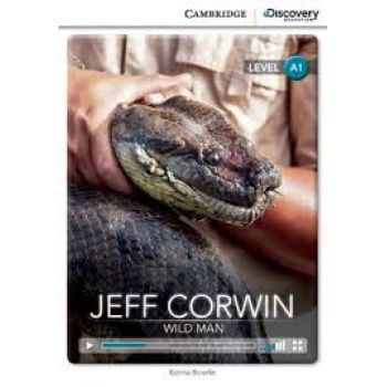 CDIR A1 Jeff Corwin: Wild Man (Book with Online Access)