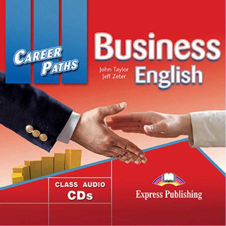 CAREER PATHS BUSINESS ENGLISH CLASS CDs (set of 2)