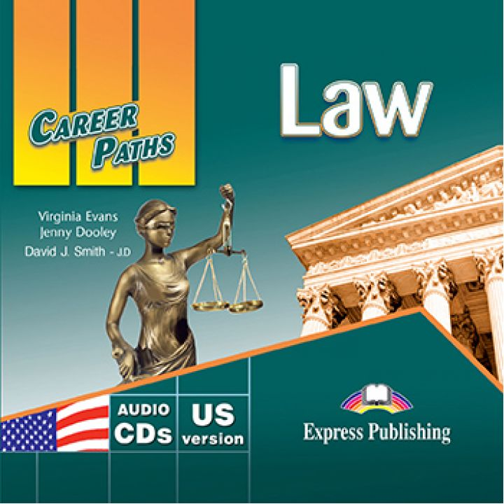 CAREER PATHS LAW CLASS CDs (set of 2)