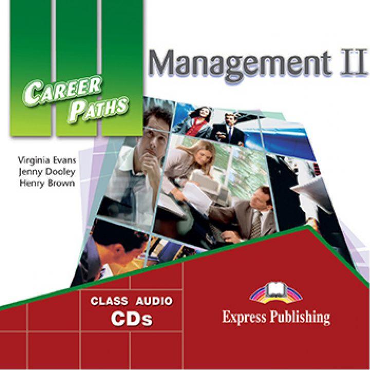 CAREER PATHS MANAGEMENT II CLASS CDs (set of 2)