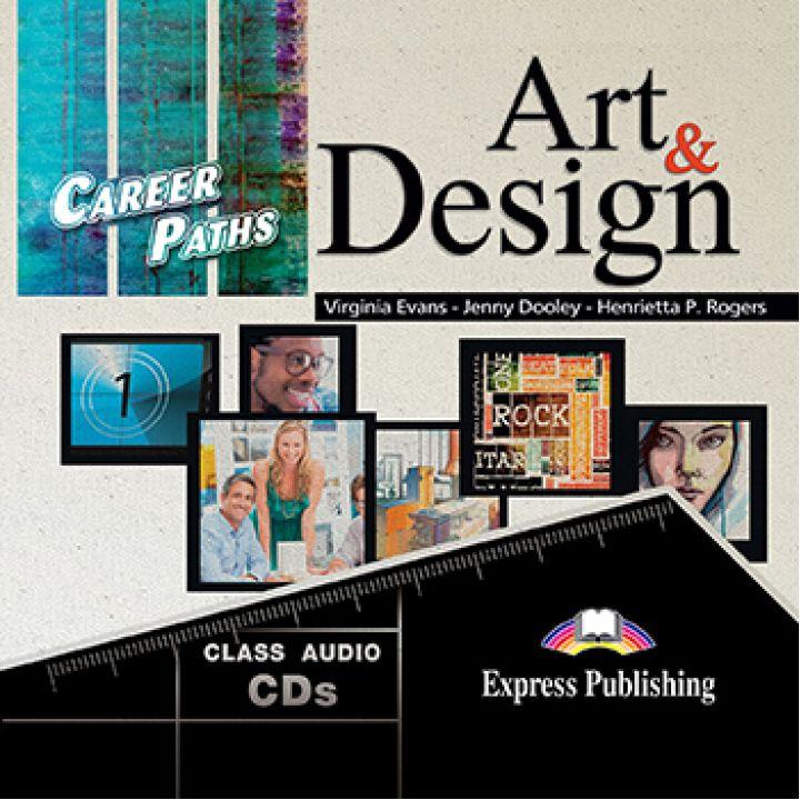CAREER PATHS ART & DESIGN CLASS CDs (set of 2)