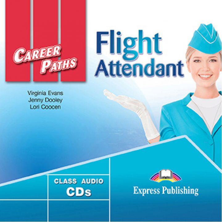 CAREER PATHS FLIGHT ATTENDANT CLASS CDs (set of 2)