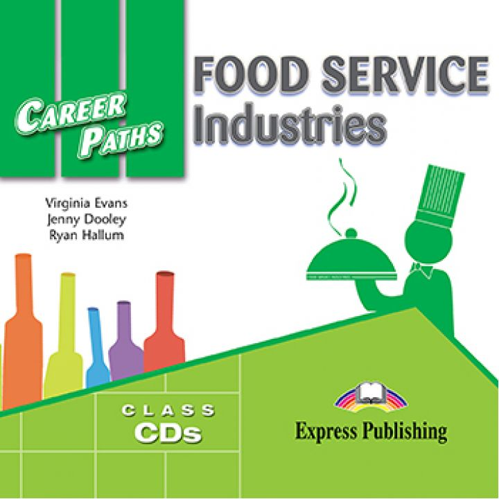CAREER PATHS FOOD SERVICE INDUSTRIES CLASS CDs (set of 2)