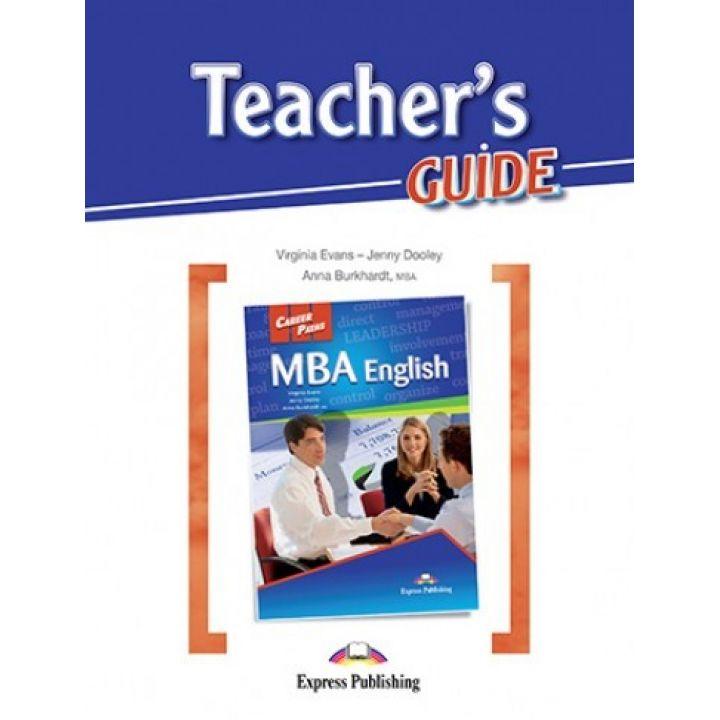 CAREER PATHS MBA ENGLISH TEACHER'S GUIDE