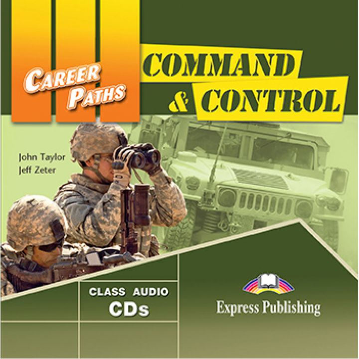 CAREER PATHS COMMAND & CONTROL CLASS CDs (set of 2)