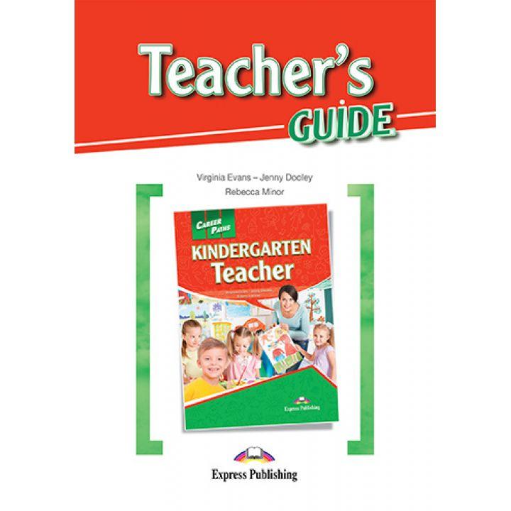 CAREER PATHS KINDERGARTEN TEACHER TEACHER'S GUIDE