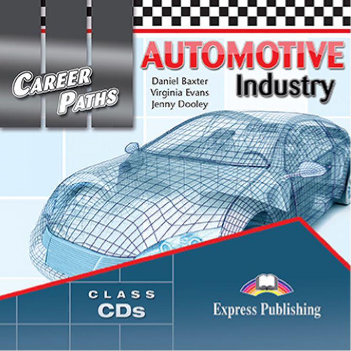 CAREER PATHS AUTOMOTIVE INDUSTRY CLASS CDs (set of 2)
