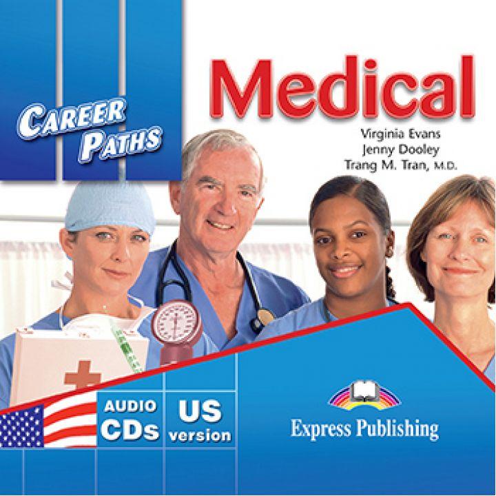 CAREER PATHS MEDICAL CLASS CDs (set of 2)