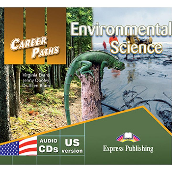 CAREER PATHS ENVIRONMENTAL SCIENCE CLASS CDs (set of 2)