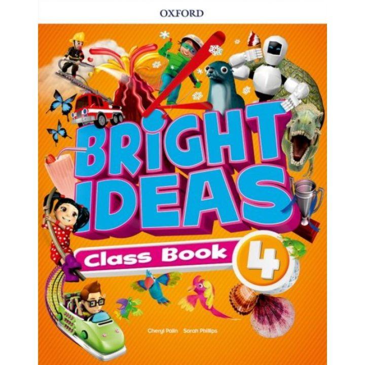 BRIGHT IDEAS 4 CLASS BOOK + APP PK
