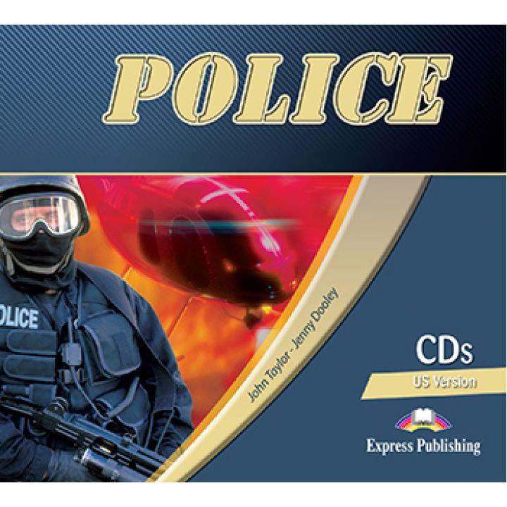 CAREER PATHS POLICE CLASS CDs (set of 2)
